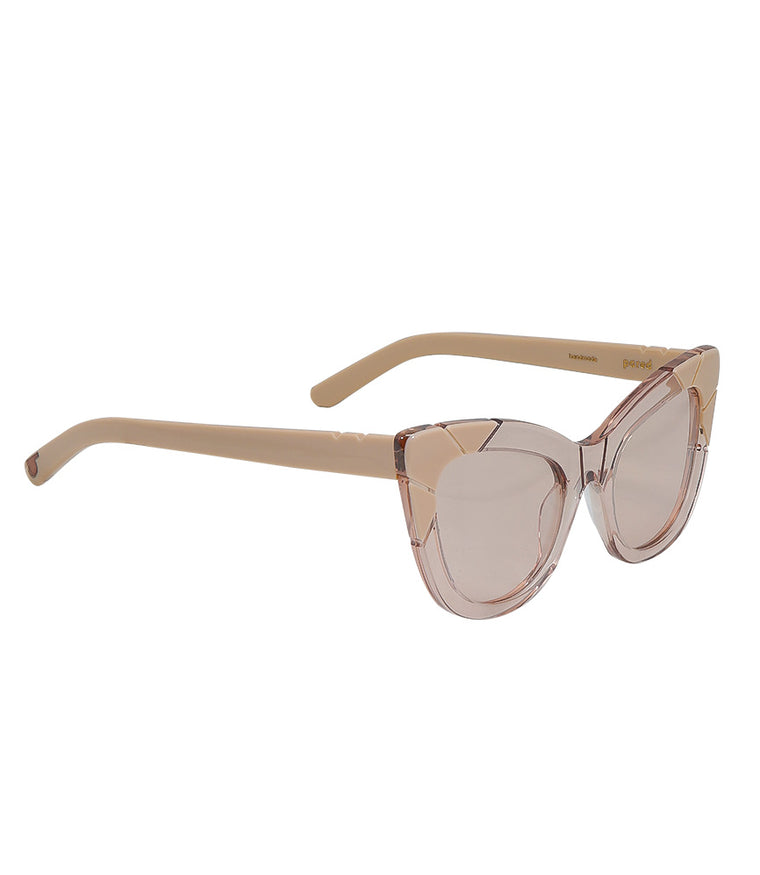 Pared Puss & Boots Fawn / Solid Taupe Sunglasses
