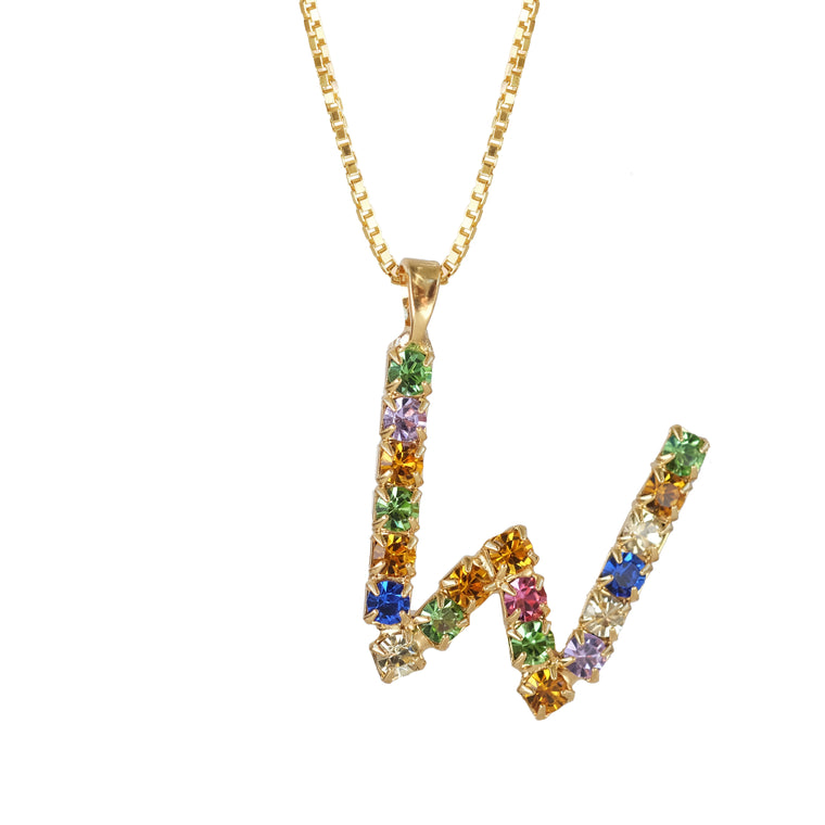 Letter Necklace W