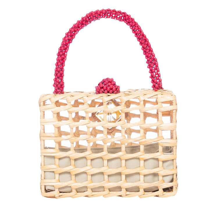 Luna Handbag Red
