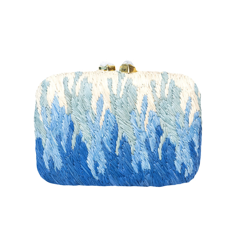 Oceana Clutch Bag Blue
