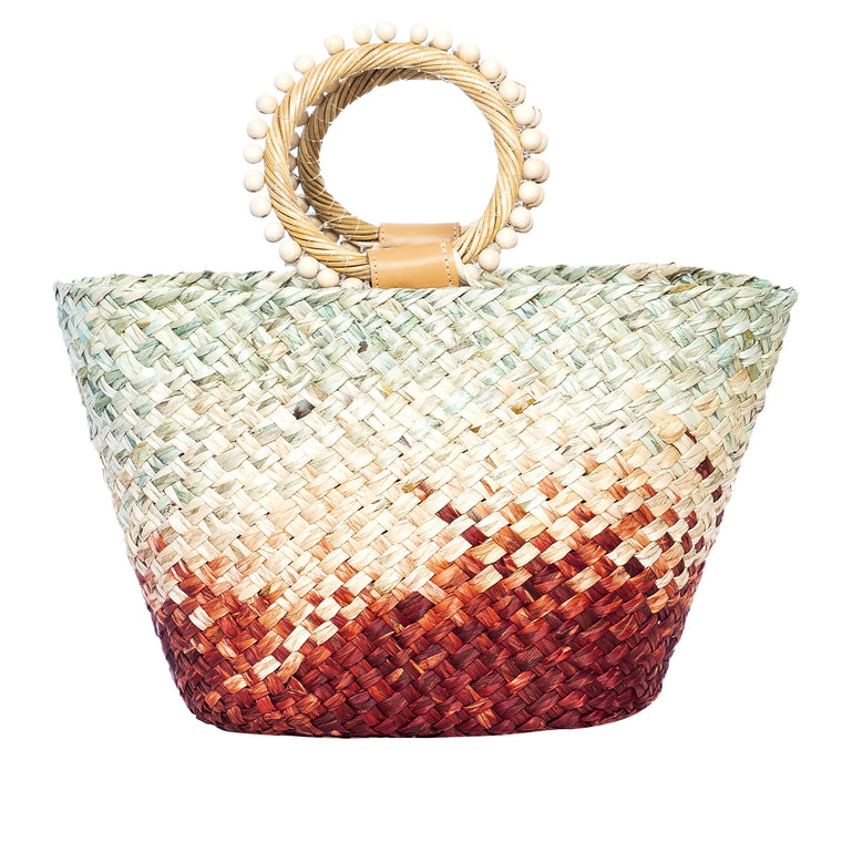 Pintano Tote Bag Mint/Rust