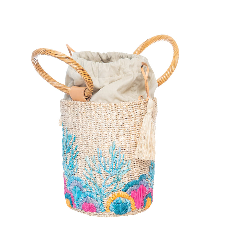 Reef Bucket Bag Natural