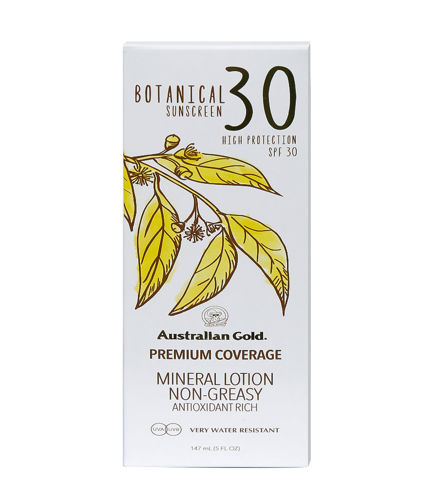 Australian Gold Botanical SPF 30 Mineral Lotion Sunscreen