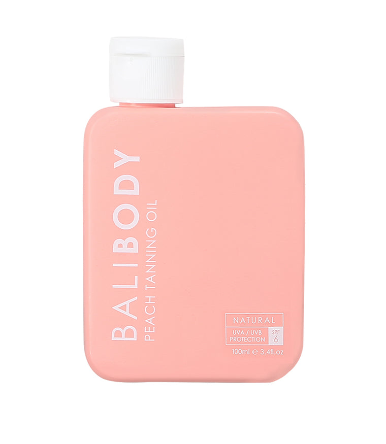 Bali Body Peach Tanning Oil SPF6