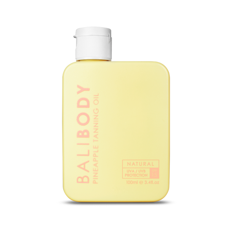 Bali Body Pineapple Tanning Oil SPF15