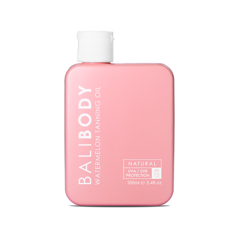 Bali Body Watermelon Tanning Oil SPF 15