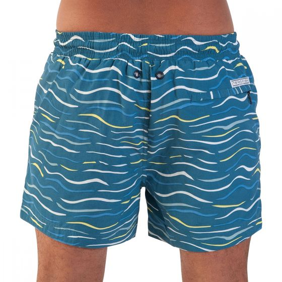 Balmoral Sun on Sea Men's Swim Shorts