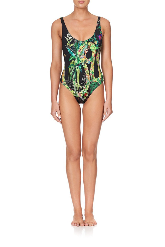 River Cruise Low Scoop One Piece