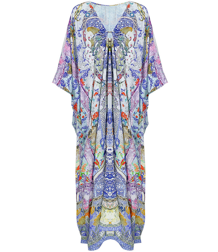 Camilla Split Sleeve Kaftan with Hardware Geisha Gateways