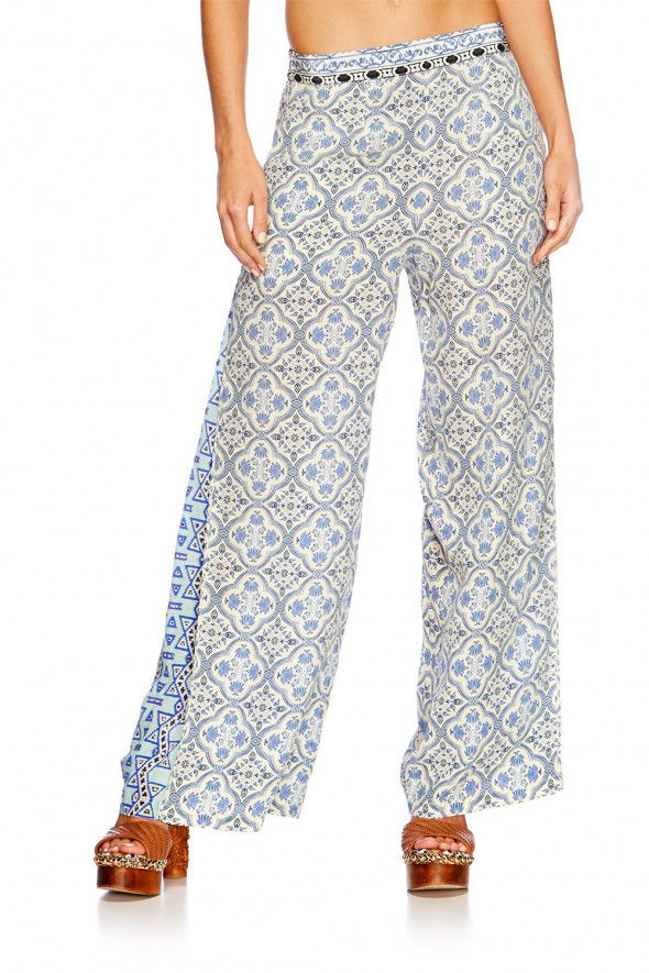 Camilla Sweet Escape Pants With Side Slit