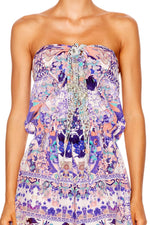 Camilla Still Life Tie Playsuit