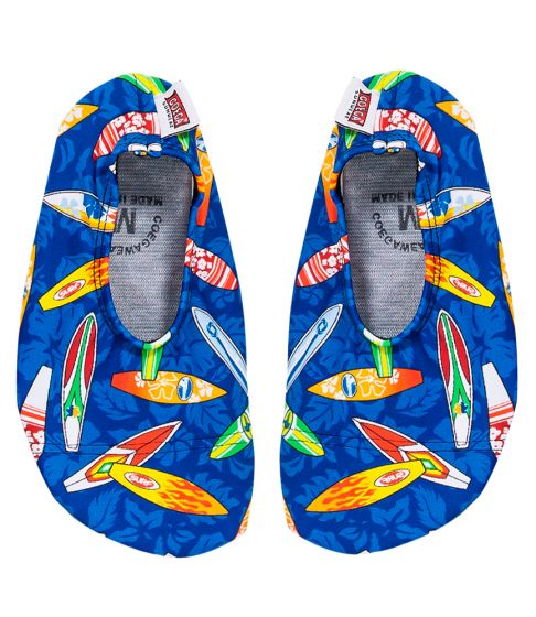 Coega Surf Boards Pattern Pool and Beach Shoes