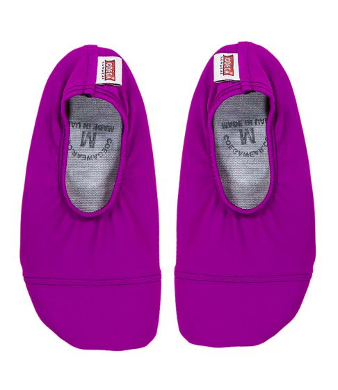 Coega Purple Solid Pool and Beach Shoes