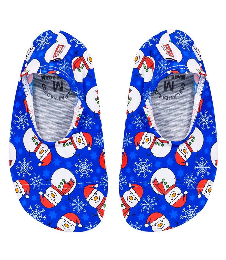 Christmas Snowman Pool & Beach Shoes