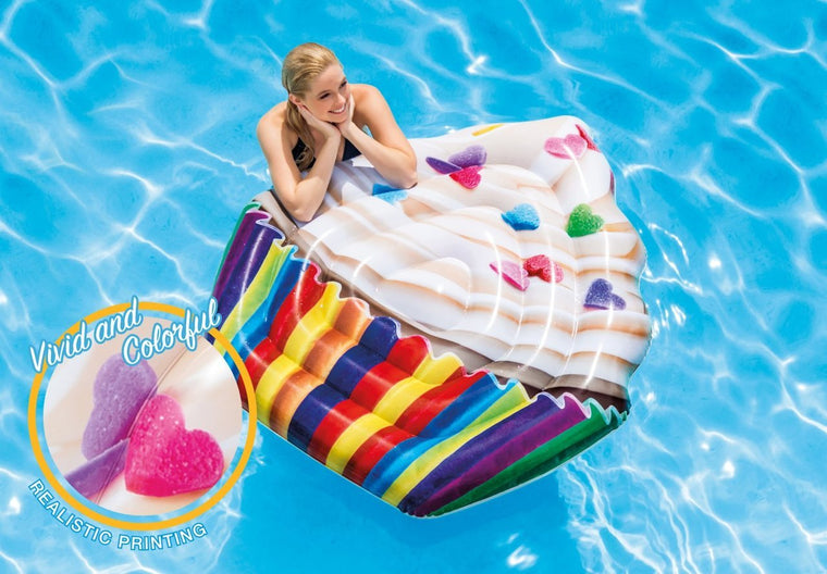 Cupcake Lilo Pool Float