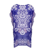 Flower Print Cover Up