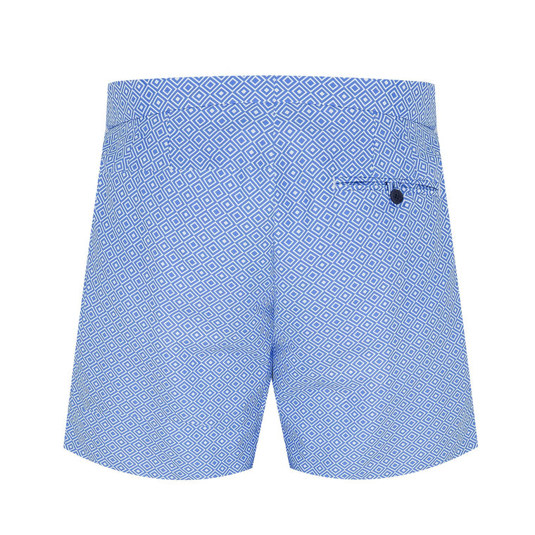 Trunks Tailored Short Angra Blue