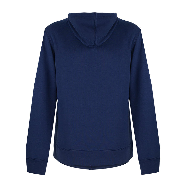 Hooded Top Track Block - Navy-Blue