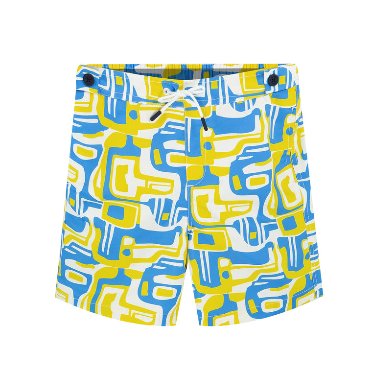 Funky Boys Swimsuit in Yellow