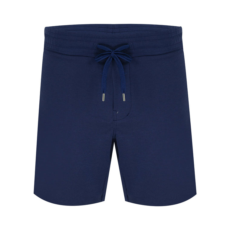 Shorts Track Block Navy Blue