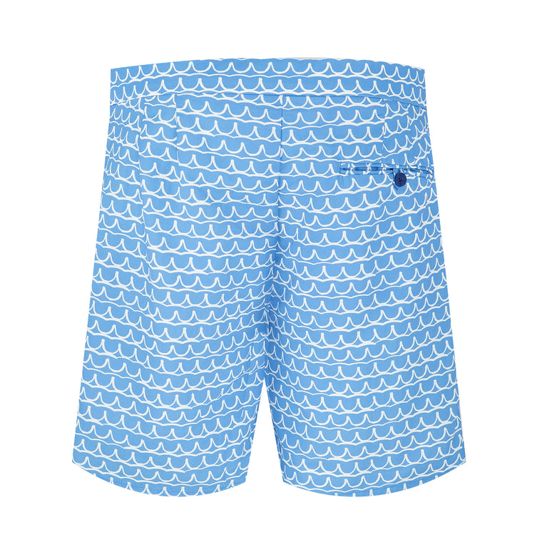 Tailored Swim Shorts with Long Inseam Size Chart