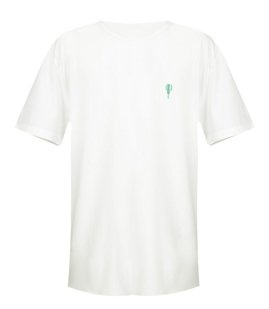 Jersey T-Shirt Short Sleeve Bat White
