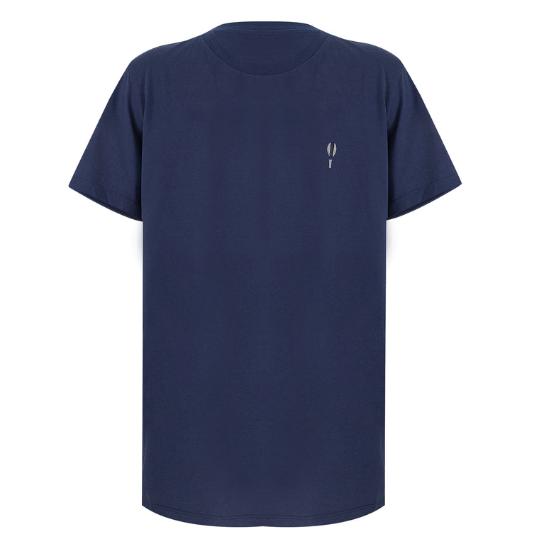 Jersey T-Shirt Bat Navy Blue