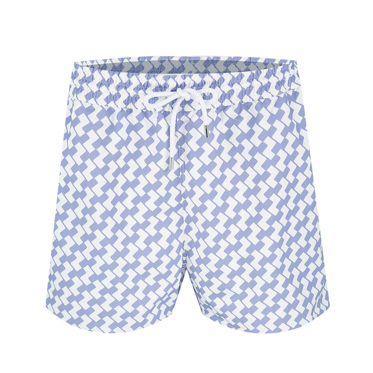 Mens Purple Swim Trunks
