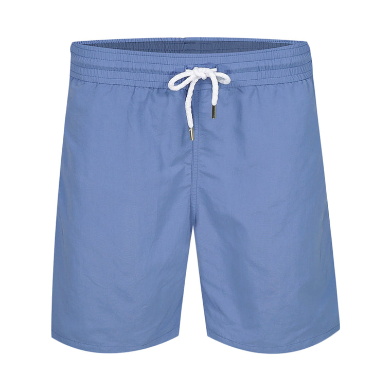 Mens Long Blue Swim Shorts