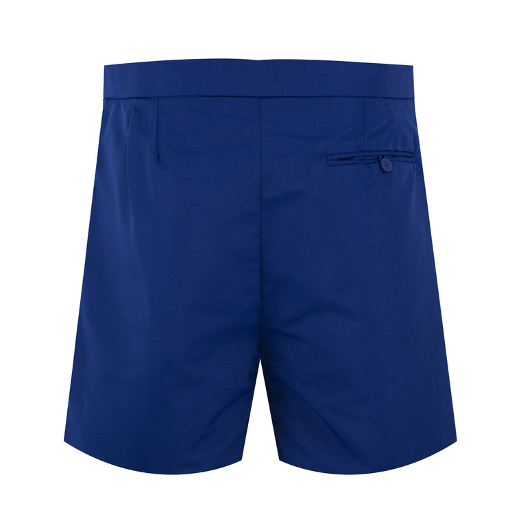 Tailored Swim Trunks Long Navy Blue