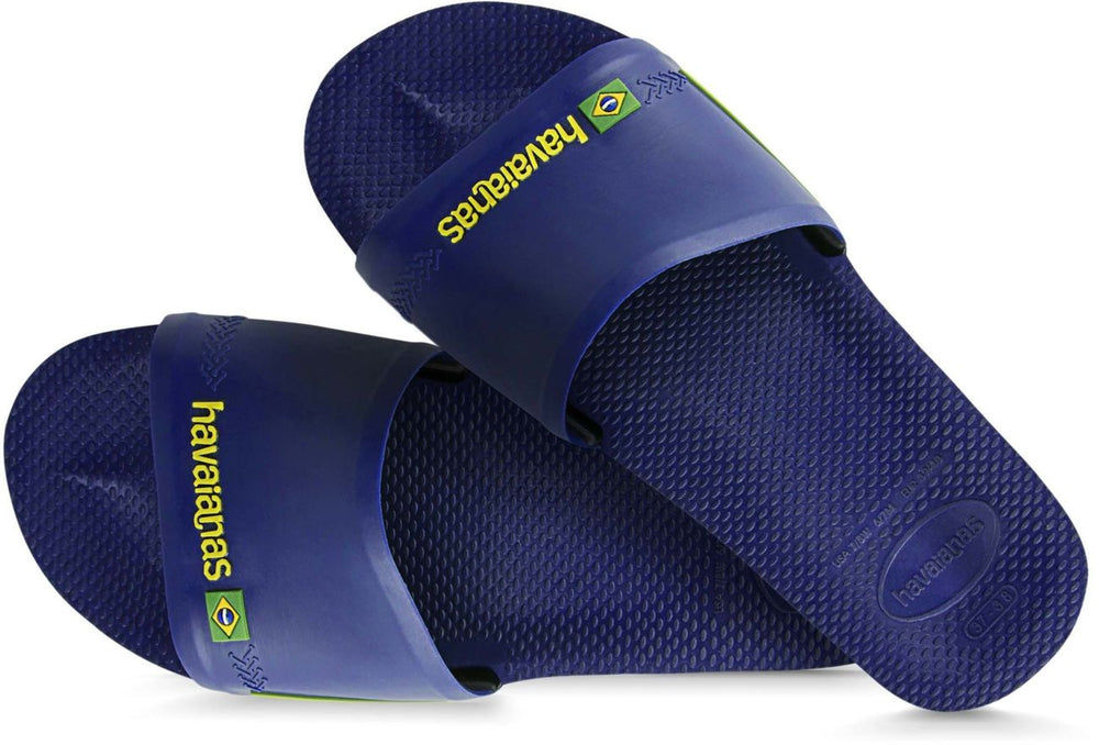 Brasil Sliders Navy Blue