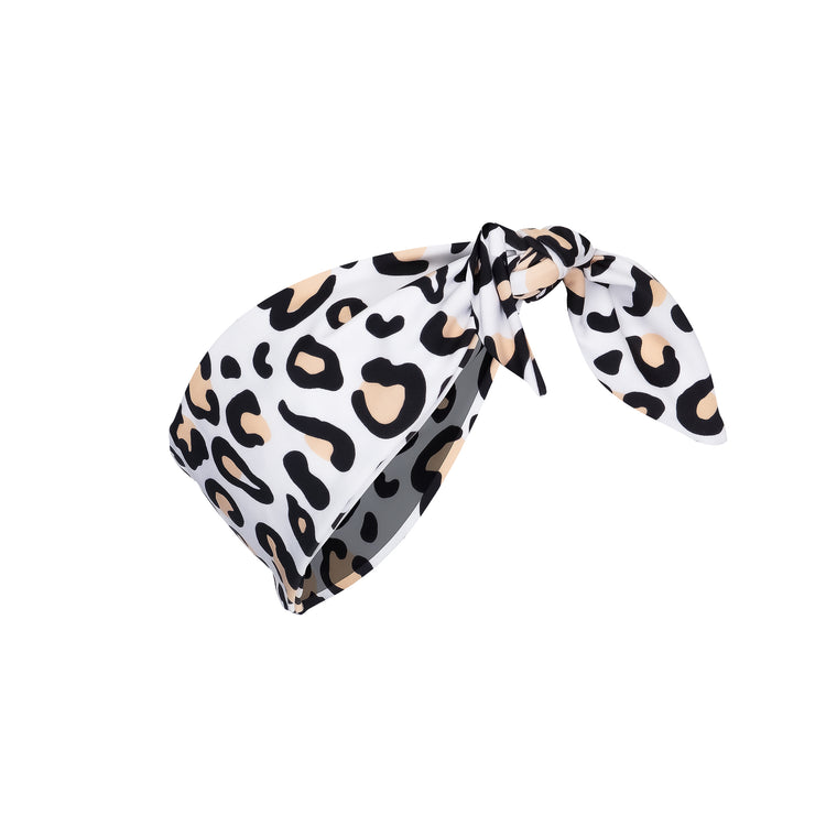 Mini Carmen Head Band Safari Leopard