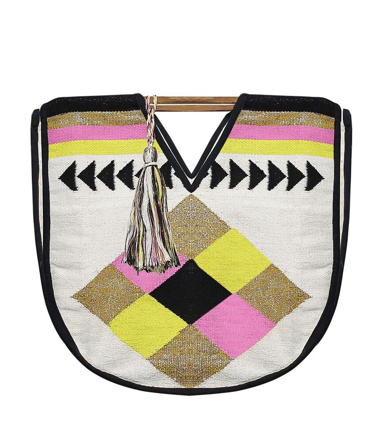 Beach Bag With Tassel