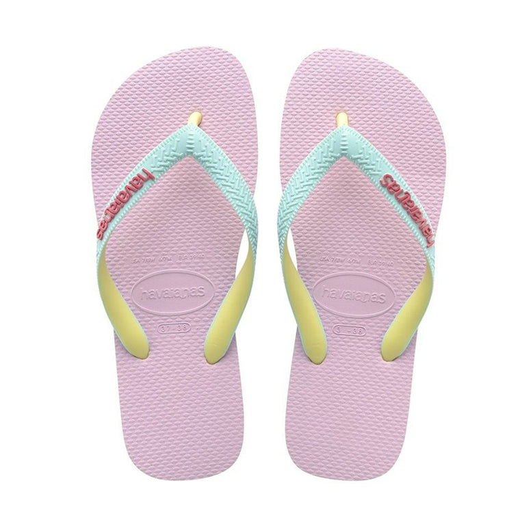 Kids Top Mix Flip Flops Blue/Rose