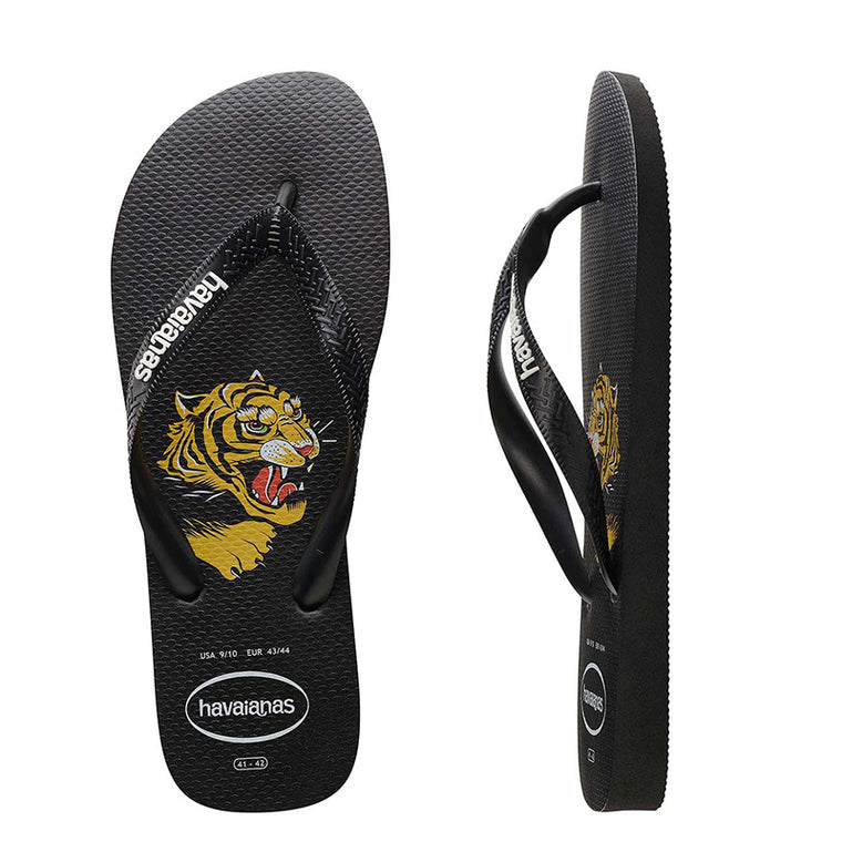 Kids Top Wild Flip Flops Black