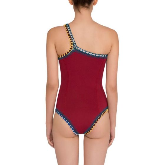 Kiini Soley One Shoulder One Piece