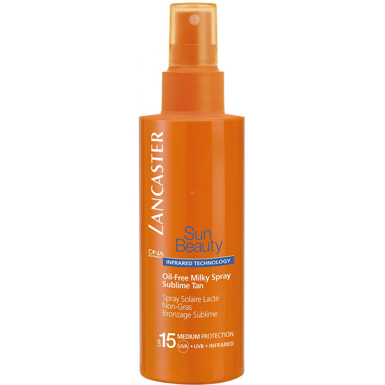 Lancaster Sun Beauty Oil-Free Milky Spray Sublime Tan Spf 15 150ml