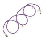 Lilac Charger With Charms