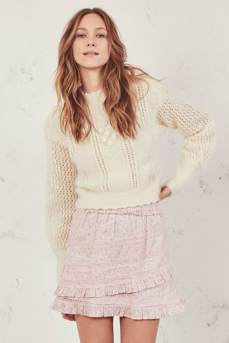 Gloria Skirt Rose