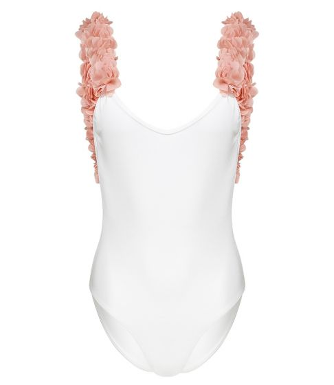 After Party White & Dusty Pink One Piece