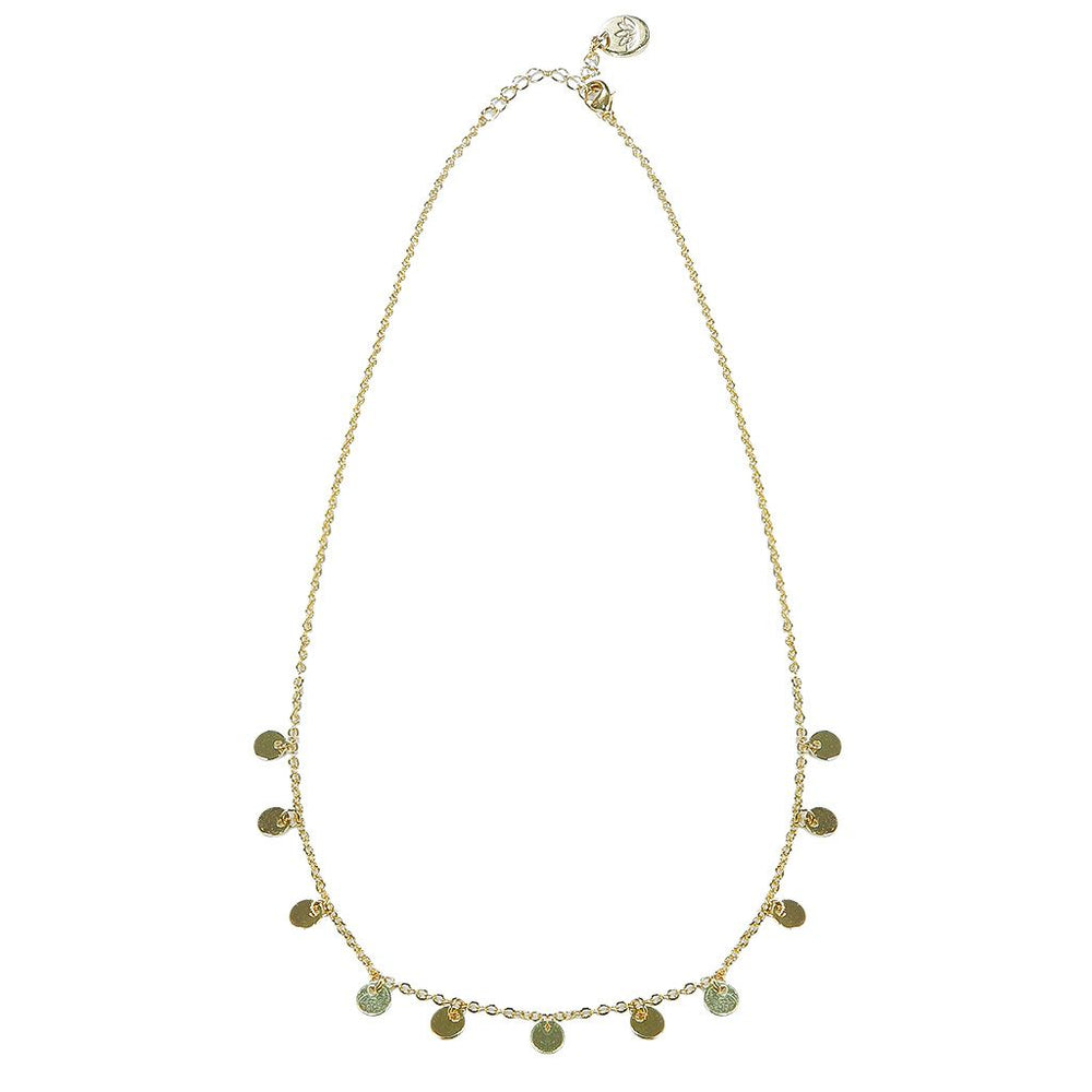 Luv & Bart Bella Necklace Gold