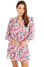 Niamat Dress Peony Floral Ditsy