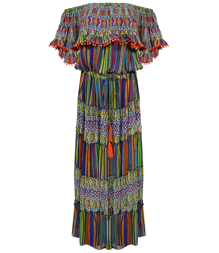Robe Dress Zagora Multi