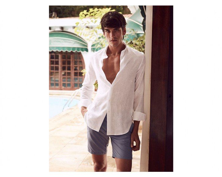 Linen Shirt Long Sleeve White