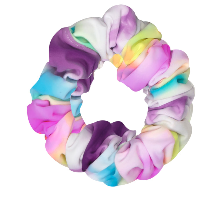 Multi Color Neon Hair Scrunchies