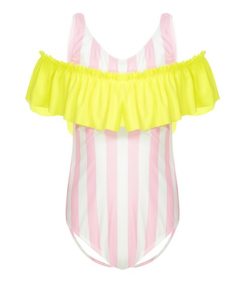 Nessi Byrd Sedum Stripe Swimsuit