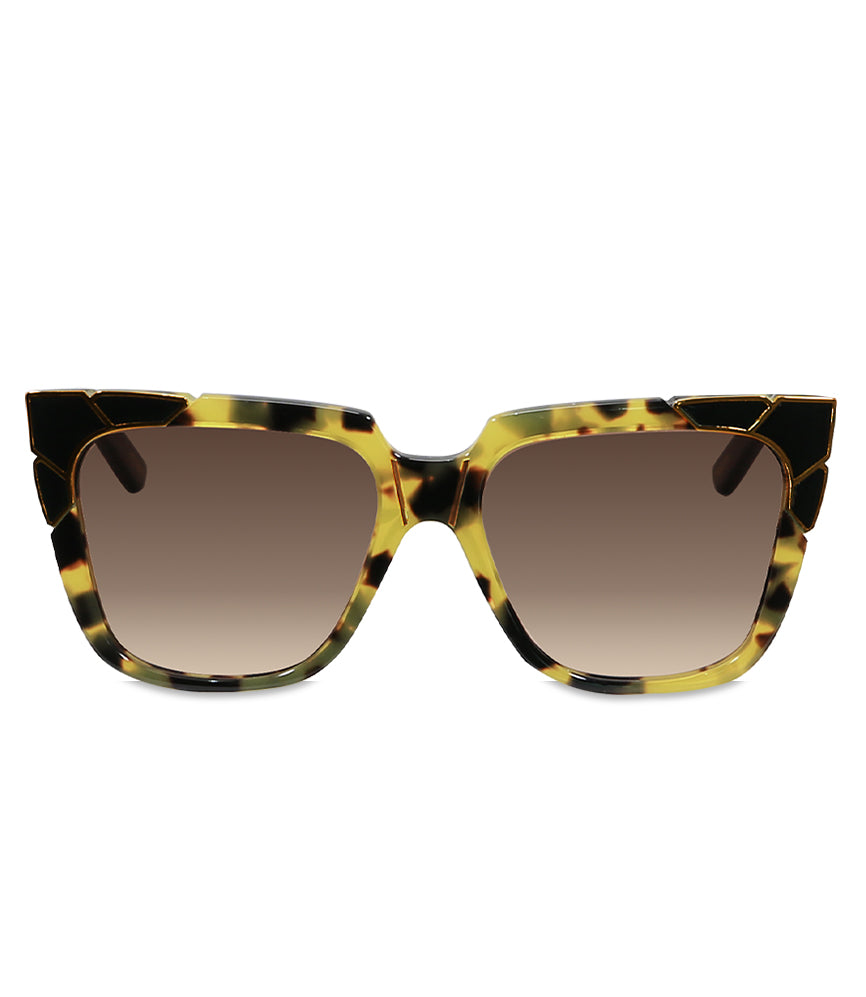 Pared Charlie & The Angels Dark Tortoise Sunglasses