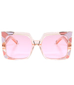 Pared Sun & Shade Pink & Rose Gold Sunglasses