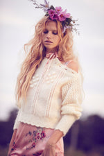 Persephone Sweater Cream Puff