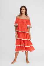 Boho Dress Strawberry